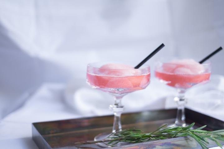 Ce soir c'est cocktails & bulles de Domaine Chandon pour la St Valentin...