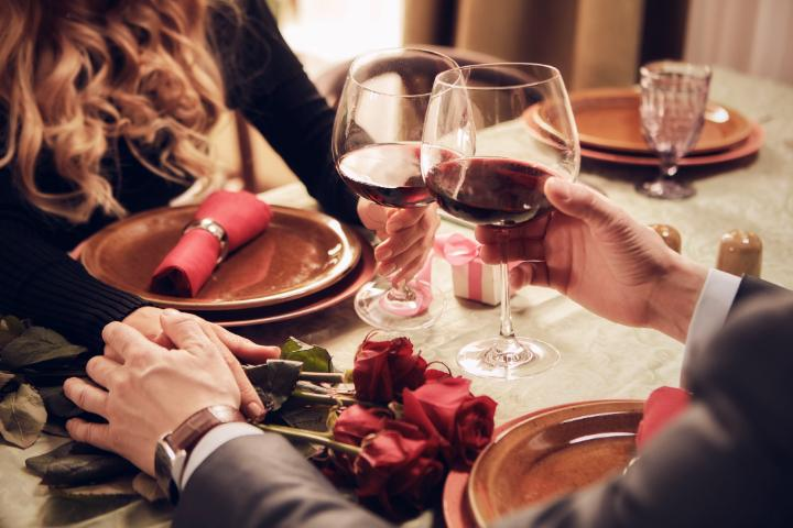 Wine Tasting with 7 services for the Valentine's Day